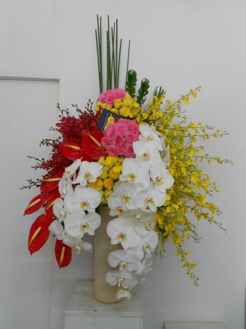 Hoa dep tang sinh nhat sep