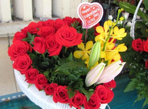 Hoa sinh nhật tặng cho bạn gái