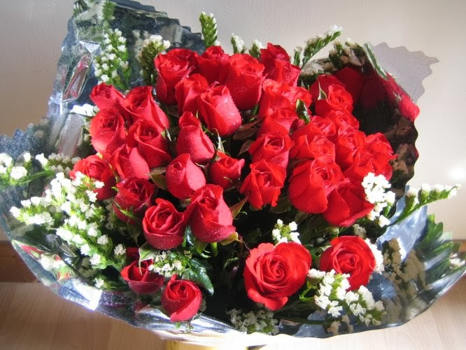 Hoa valentine tphcm